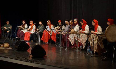 اجرای گروه موسیقی ایرانی چهارگاه